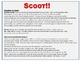 Scoot! Game with Multiplication Fact Families 8's, 9's, and 10's