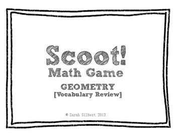 Scoot! [Geometry - Vocab Review]