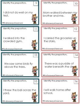 Scoot: Identify Prepositions