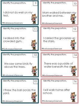 Scoot: Identify Prepositions