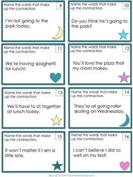 Scoot: Identify the Contraction
