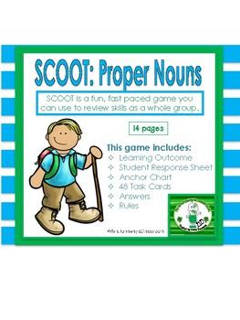 Scoot: Identify the Proper Nouns