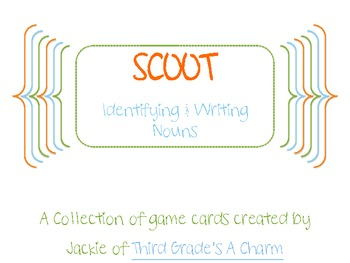 Scoot: Identifying and Writing Nouns