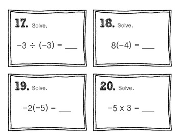 Scoot! [Integer Operation Review]