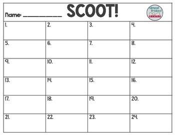 Scoot: Make a Ten Using Ten Frames