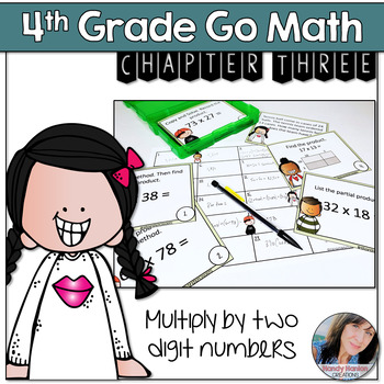 Go Math 4th Grade Chapters One - Four Game Bundle
