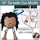 Go Math Chapters 1-4 4th Grade Math Task Card Games Bundle