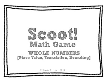 Scoot! Math Games [BUNDLE PACK]