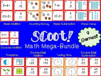 Scoot! Math Mega-Bundle