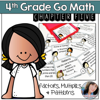 Go Math Chapter 5 Products, Multiples, Divisibility, and Patterns Activity