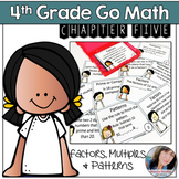 4th Grade Math Center Products, Multiples, Divisibility, and Patterns Activity