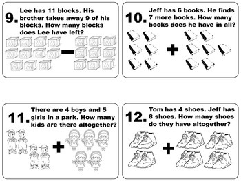 Scoot Math for Kindergarten.