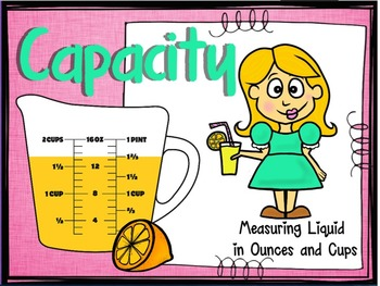 Capacity Practice: Measuring Ounces and Cups