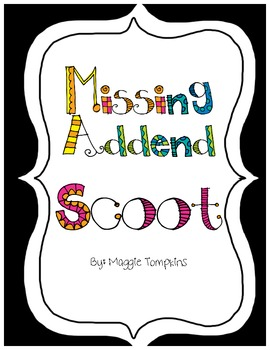 Scoot Missing Addend
