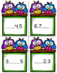 Task Cards--Scoot!  Missing Number Game