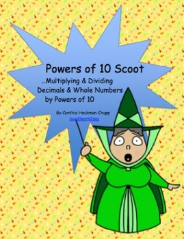 Scoot: Multiply & Divide Decimals & Whole Numbers by Powers of 10