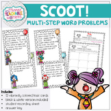 Scoot! Multistep Word Problems Addition and Subtraction Do