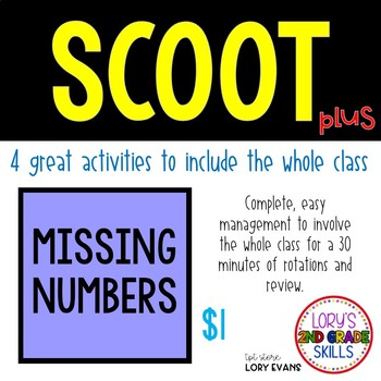 Scoot - Noodle Scoot & more... Missing Numbers