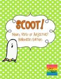Scoot:  Noun, Verb or Adjective?  {Halloween Edition}
