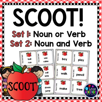 Nouns and Verbs - Scoot Games