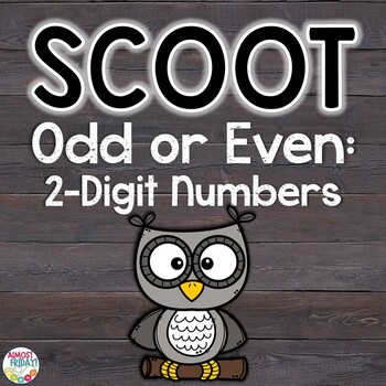 Odd or Even 2-Digit Numbers Scoot Game