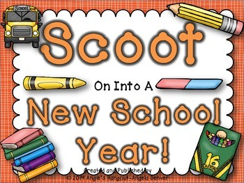 Scoot On Into A New School Year