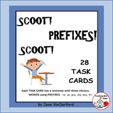PREFIXES   Scoot! TASK CARDS   Awards  Prefix Lists  Grades 3-4
