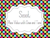 Scoot: Place Value Game for Ones and Tens (with correlating worksheets)