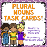 Plural Nouns Task Cards