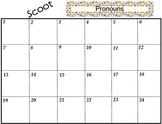 Scoot Pronouns Activity