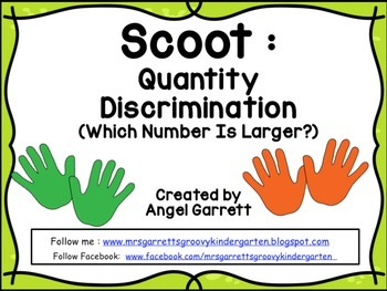 Scoot:  Quantity Discrimination (What Number is Larger?) N