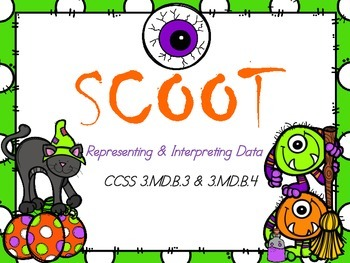 Scoot - Representing and Interpreting Data (common core aligned)