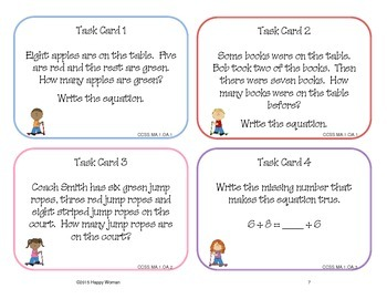 Scoot: Review of First Grade CCSS Math