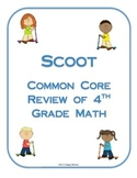 Scoot Review of Fourth Grade Math