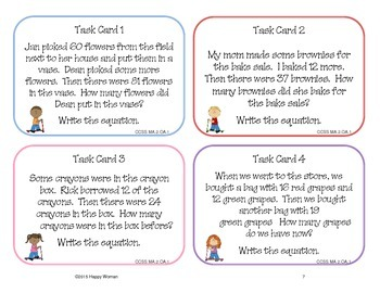 Scoot: Review of Second Grade CCSS Math