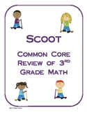 Scoot Review of Third Grade Math