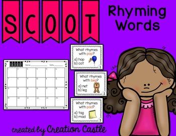 Scoot - Rhyming Words