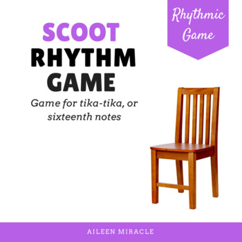 Scoot {Rhythm Game for Sixteenth Notes and Half Note}