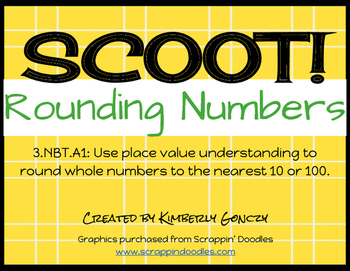 Scoot! Rounding Numbers