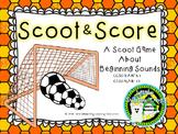 Scoot & Score ( A Beginning Sounds Phonics Scoot Game)