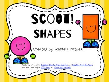 Scoot! Shapes
