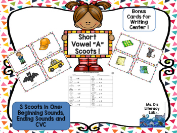 "Short Vowel ""a"" Scoot (CvC)"