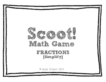 Scoot! [Simplify Fractions]