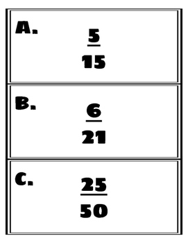 Scoot~ Simplifying Fractions