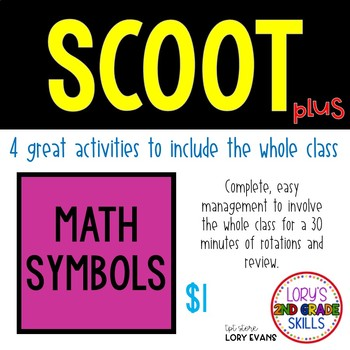 Scoot - Smore Scoot & more... Math Sign