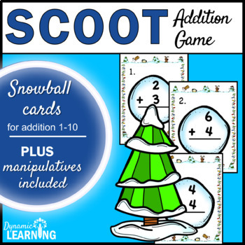 Winter Activities for Addition to 10