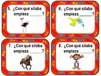 Scoot: Spanish syllables Ch, J, H, Y y Ñ