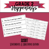 Statement and Question Scoot Style Game / Task Cards