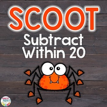 Subtract Within 20 Scoot Game