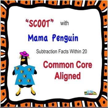 Penguins Subtraction Scoot 11-20